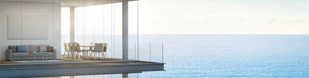 investment property by the ocean